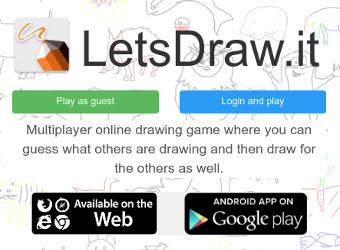 Try our drawing game
